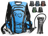 Hydration Backpack With 2.0L TPU Leak Proof Water