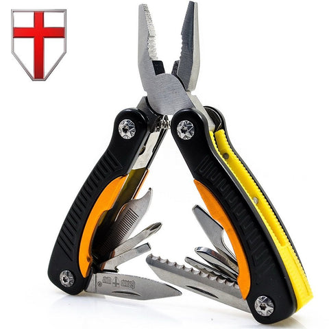 Mini Utility Multitool with Knife and Pliers