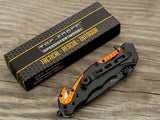 TAC-FORCE EMT EMS ORANGE Knife
