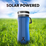 Bear Grylls 3-in-1 Solar Water Bottle Light Bright LEDs USB Charger BPA FREE