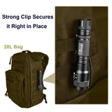 CVLIFE Tactical Flashlight T6 Outdoor Torch 18650 Rechargeable Battery and Charger