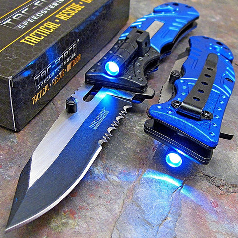 Tac-Force LED Tactical Knife