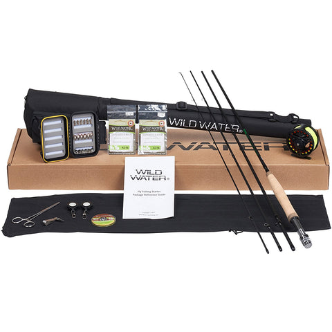Wild Water Deluxe FLY Fishing Complete Starter Package