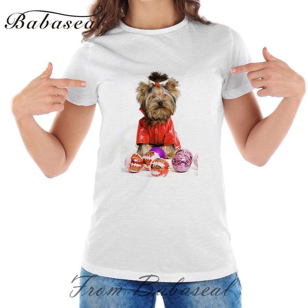 Little Yorkshire Terrier Dog T-Shirts