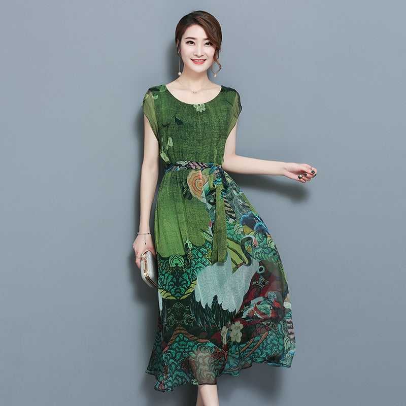 Spring Summer Green Dresses