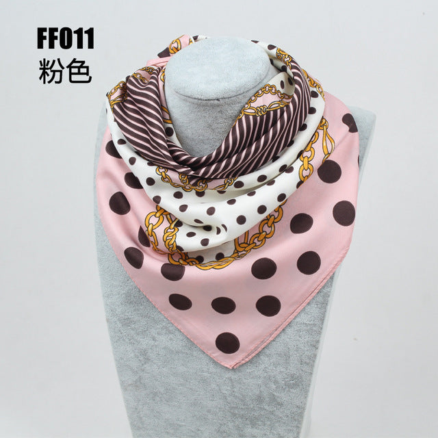Foulard Top Silk Bandana