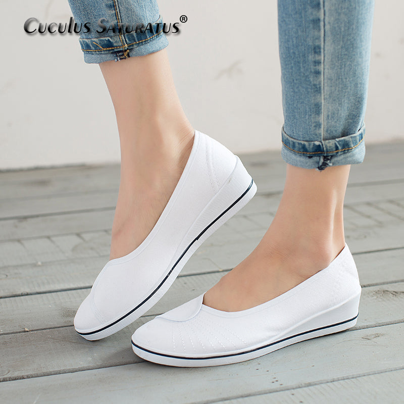 Women Loafers Soft Slip On