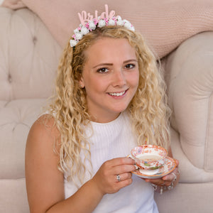White Bride Hen Party, Hen Do Flower Headband