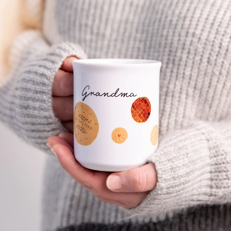 Personalised Biscuits And Cookies Mug Gift - Funky Laser