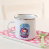 Personalised Children's Mermaid Enamel Mug - Funky Laser