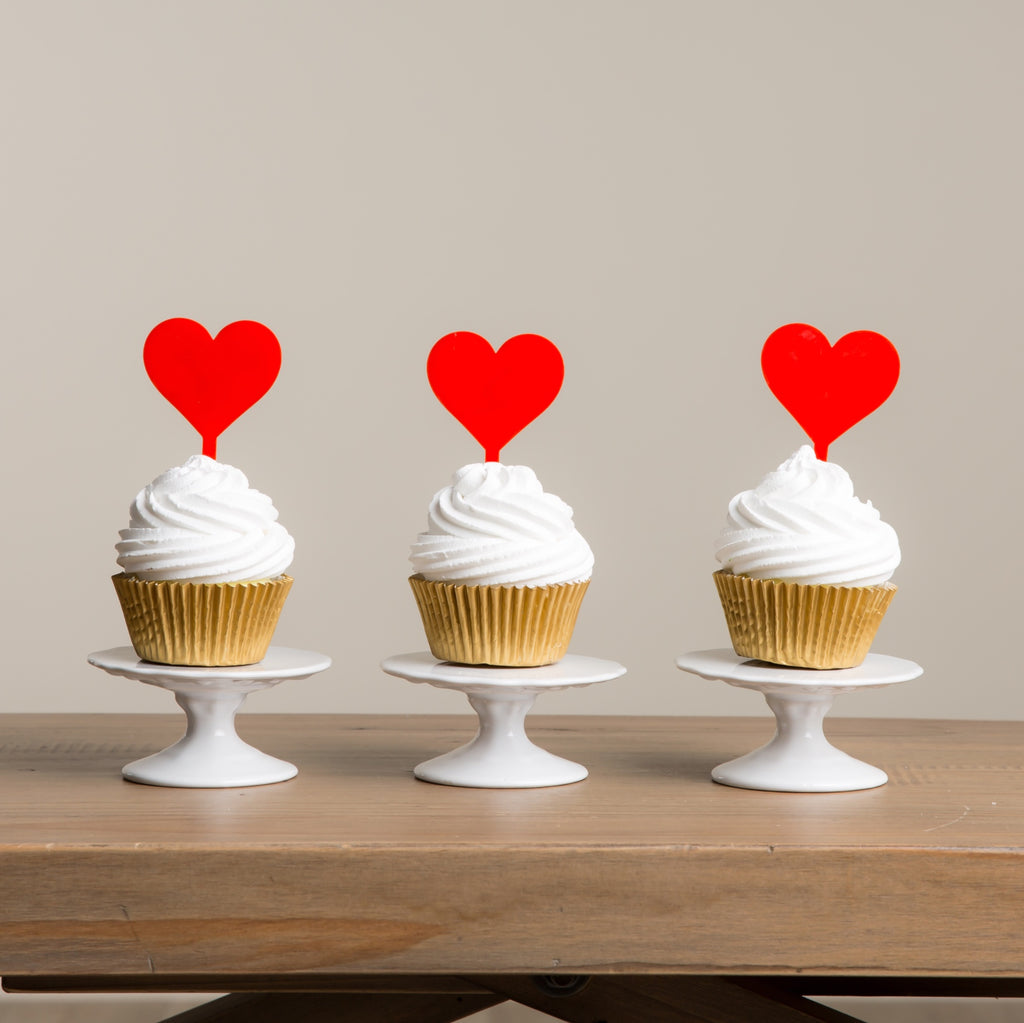 Extra Heart Picks (to be made in same colour as main cake topper) - Funky Laser
