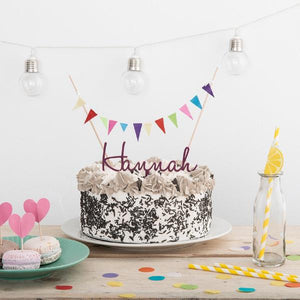 Personalised Name Cake Topper - Funky Laser