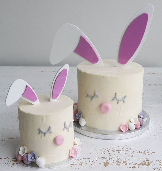 Bunny Ears Easter Cake Topper