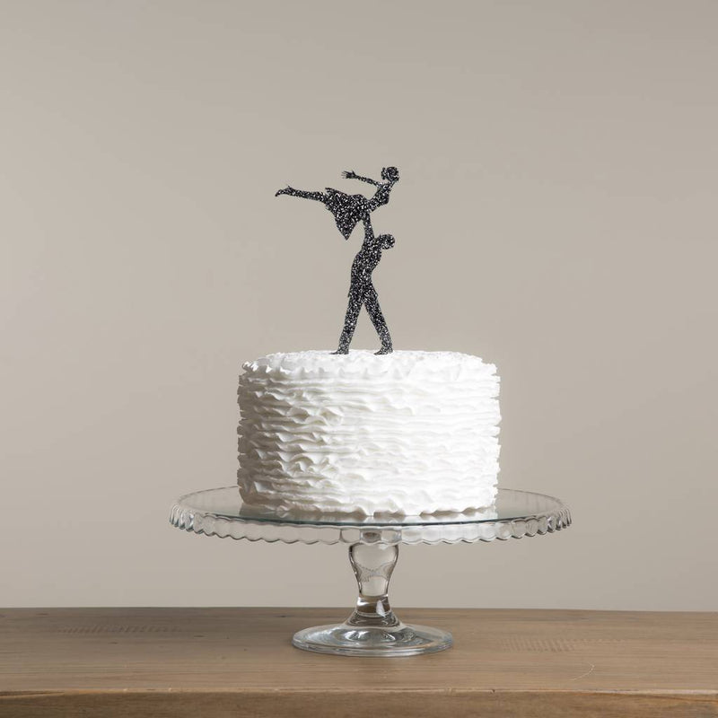 Dirty Dancing Inspired Acrylic Wedding Cake Topper - Funky Laser