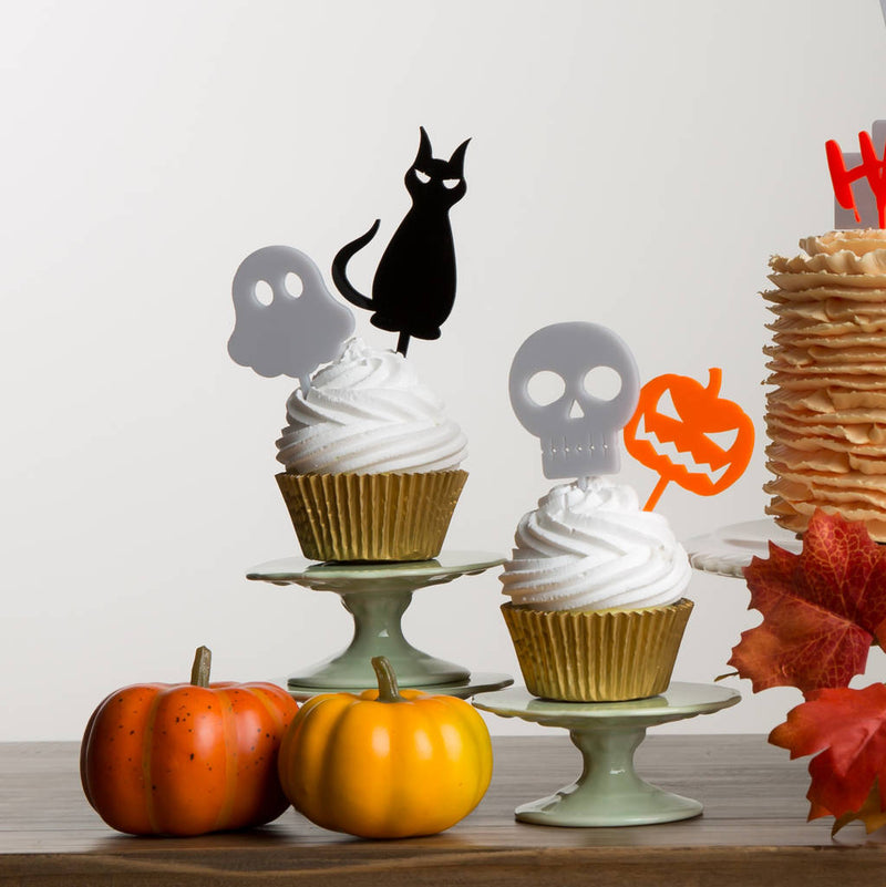 Halloween Spooky Cake Topper Party Decorations - Funky Laser