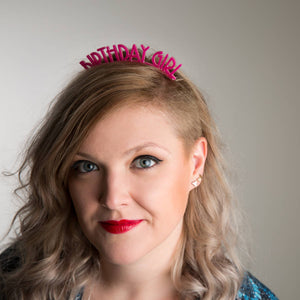 Birthday Girl Headband - Funky Laser