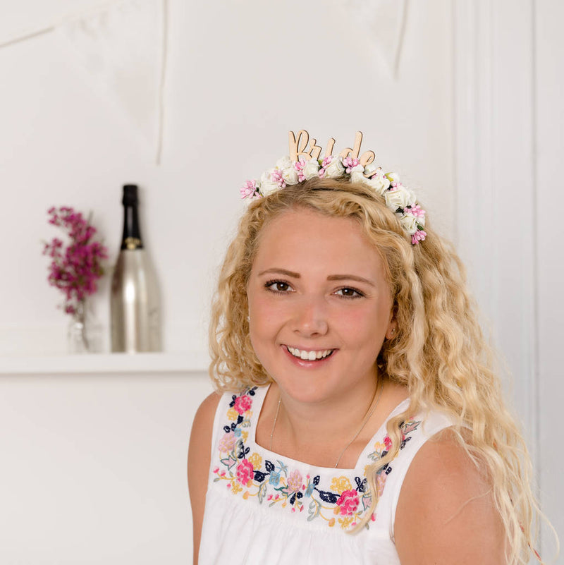 Festival Bride Hen Do Headband - Funky Laser