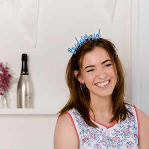 Bridesmaid Headband Hen Party Hair Accessory - Funky Laser