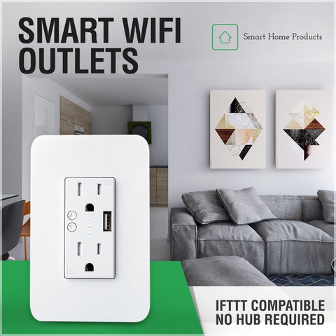 Smart wifi outlet ifttt compatible