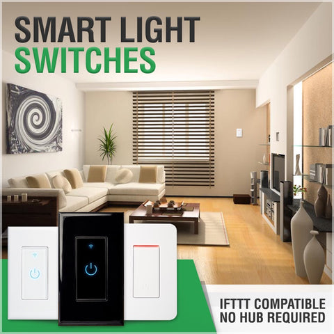 Smart wifi light switch ifttt compatible