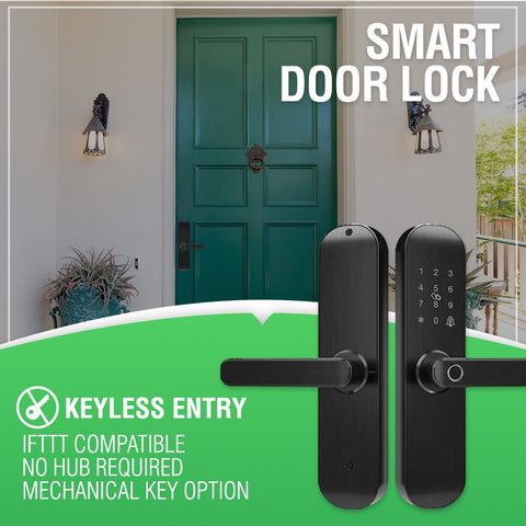 Smart wifi door lock keyless entry