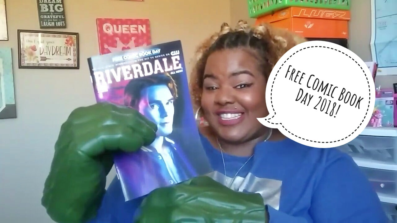 Free Comic Book Day 2018 Comic Book Haul! Why you should go next year!