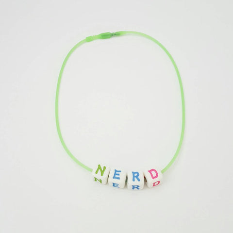 Cute Nerdy Chic Accessories, Choker Necklace, 90's Style Fashion