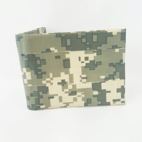 Green Camouflage Wallet, Cool Bifold Wallets For Men or Boys Billfold, Men's Wallets, Ebony Rae - Ebony Rae Shop