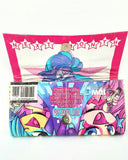 Jem and the Holograms Comic Book, Cool Ladies Wallet, Comic Book Women's Wallet, Ebony Rae - Ebony Rae Shop
