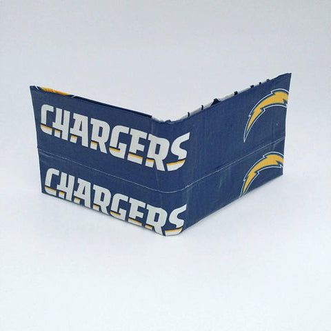 Los Angeles Chargers NFL Men's Bifold Wallet, Cool Wallets For Men, Men's Wallets, Ebony Rae - Ebony Rae Shop