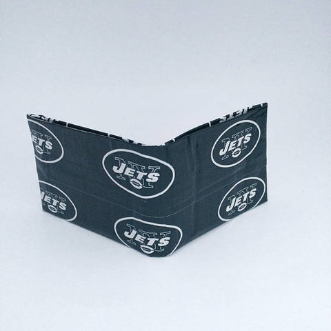 New York Jets NFL Men's Bifold Wallet, Cool Wallets For Men, Billfold, Men's Wallets, Ebony Rae - Ebony Rae Shop