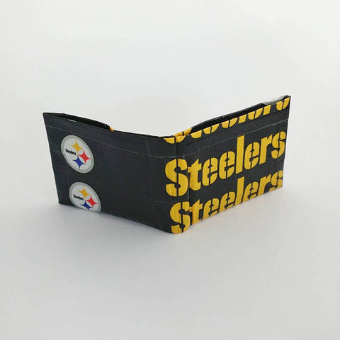 Pittsburgh Steelers NFL Men's Bifold Wallet, Cool Wallets For Men, Men's Wallets, Ebony Rae - Ebony Rae Shop