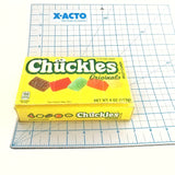 Cute Yellow Women's Wallet, Upcycled Chuckles Candy Box Clutch