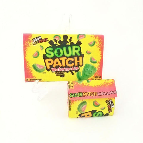 Fun Sour Patch Kids Candy Box Women's Wallet Coin Pouch Gift Set