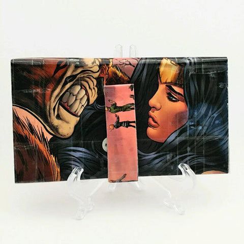 Wonder Woman Comic Book Bi-fold Women's Wallet, Wallets for Women, Comic Book Women's Wallet, Ebony Rae - Ebony Rae Shop