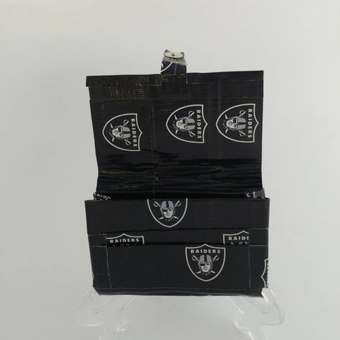 Oakland Raiders NFL Black Women's Wallet, Small Pocket Walets