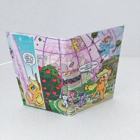 MLP Women's Credit Card Pocket Wallet, Small Ladies Bi-fold Wallet, Comic Book Women's Wallet, Ebony Rae - Ebony Rae Shop
