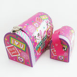 Valentines Day Mailbox, Valentine's Candy Box, Cute Pink Girl's Purse