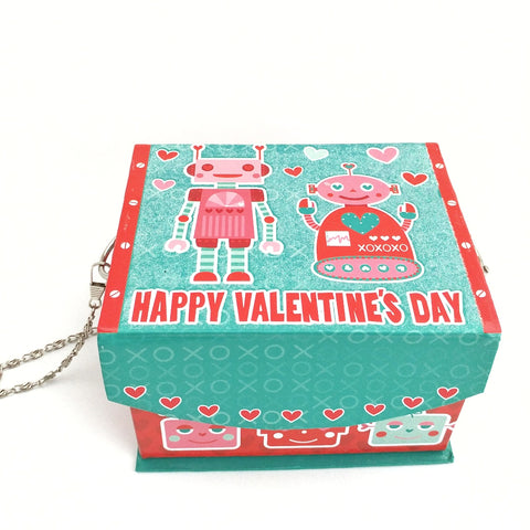 Valentine's Box, Valentines Day Gift, Cute Women's Novelty Purse