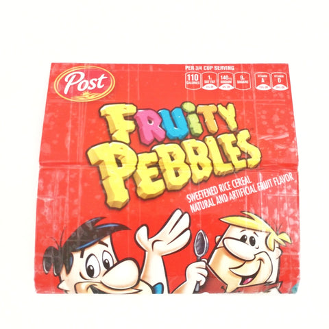 Cute Fruity Pebbles Novelty Clutch Bag, Long Red Women's Wallet