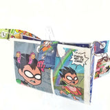 Cute Mini Purse Handbag, Teen Titans Go Robin Raven Geek Girl Gifts