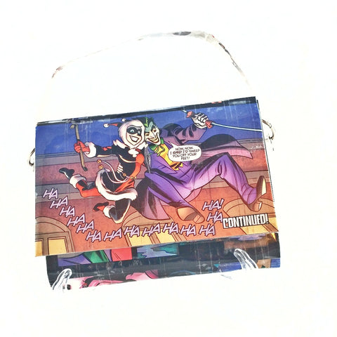 Unique Mini Bag Harley Quinn Joker Halloween Costume Purse Womens Gift