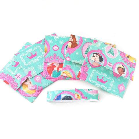 Cute Disney Princess Mini Envelope Gift Card Holder, Stocking Stuffer