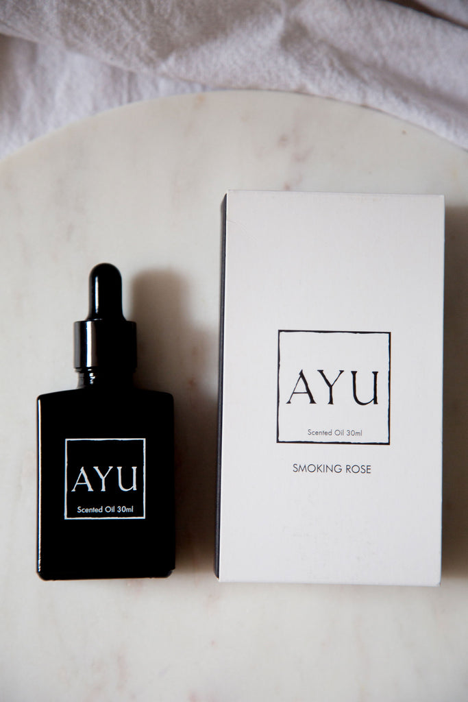 Smoking Rose perfume oil ~ Ayu