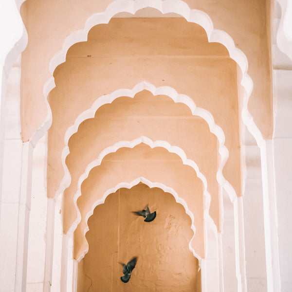Mehrangarh Arches – Photographic art print