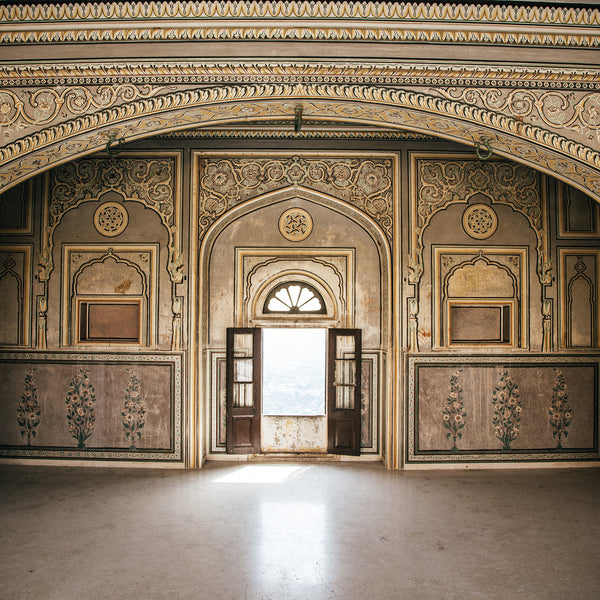 The Royal Suites of Nahargarh – Photographic art print