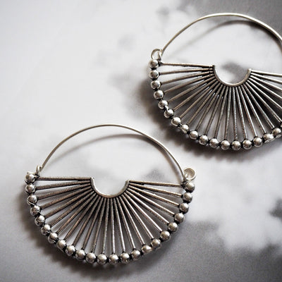 Halo earrings