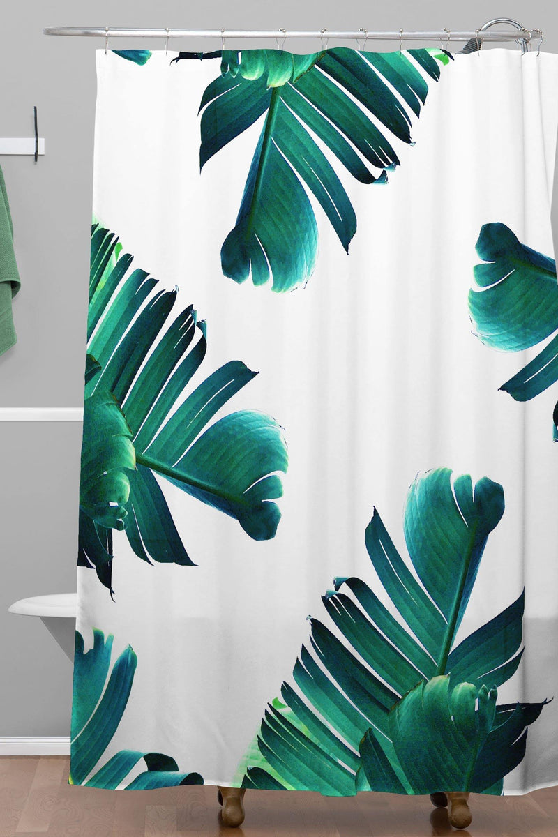 83 Oranges Banana Leaf Crush Shower Curtain - theprintypeople