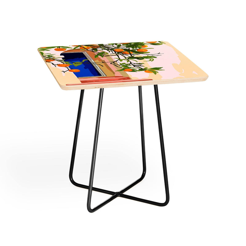 83 Oranges Go With All Your Heart Side Table - theprintypeople