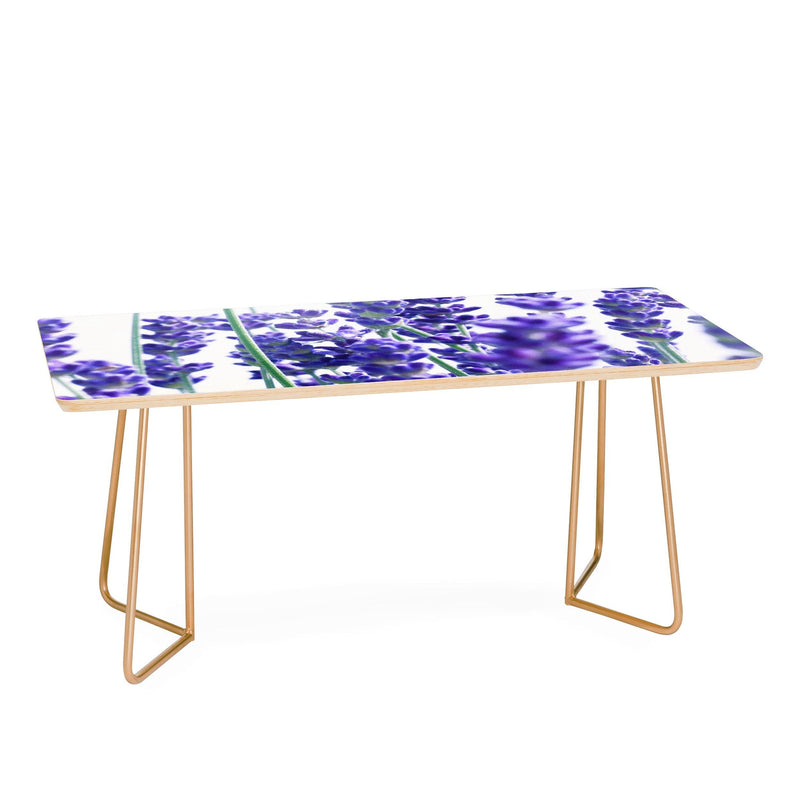 Anitabellajantzart Fresh Lavender 1 Coffee Table - theprintypeople